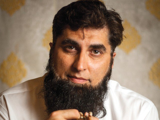 Junaid Jamshed on fusion music, Pakistan's elite and singing naat. PHOTO: AMEER HAMZA