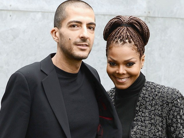 Janet Jackson and husband, Wissam al mana. PHOTO: BILLBOARD