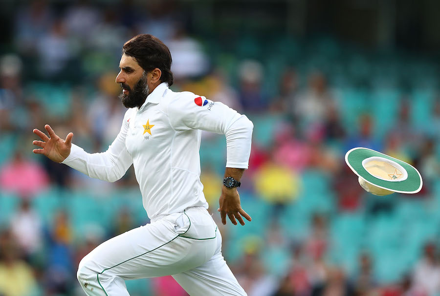 Out of sorts: Rashid believes Misbah has struggled as captain and batsman and must now think about hanging up his gloves. Photo courtesy: Cricket Australia
