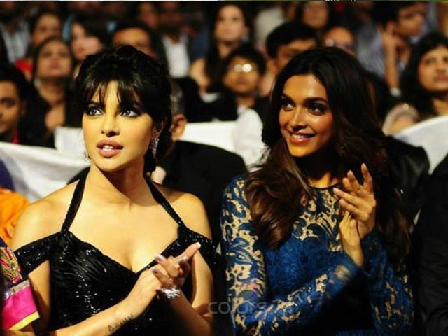 Bollywood actors Priyanka Chopra and Deepika Padukone. PHOTO: PINKVILLA