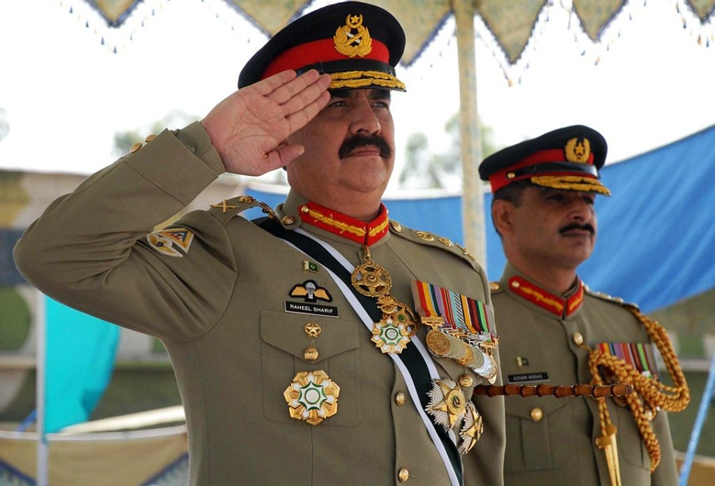 Former chief of Army Staff General (retd) Raheel Sharif. PHOTO: ONLINE