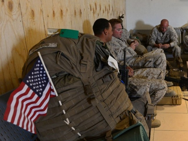 US Marines left Helmand province in Afghanistan in 2014 as NATO withdrew its forces and let Afghan troops lead the fight against the Taliban. PHOTO: AFP