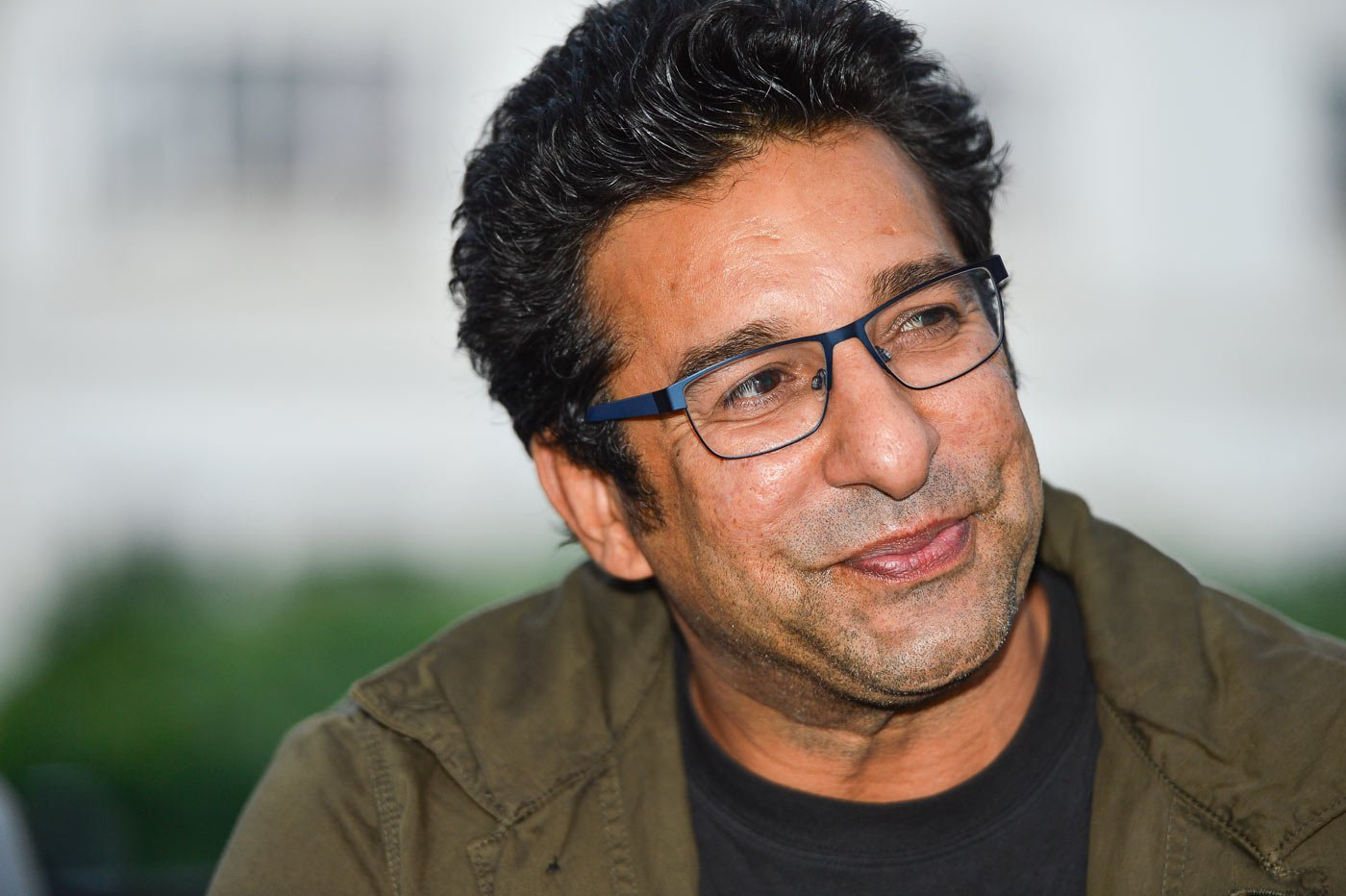 Wasim Akram finds himself in trouble with the law. PHOTO COURTESY: CRICINFO