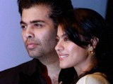 Director/Producer Karan Johar and actor Kajol. PHOTO: INDIA TODAY