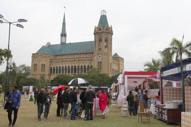 Karachi has fallen in love with Karachi EAT Festival. PHOTO: AYESHA MIR / EXPRESS