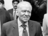 A file photo of Justice (retd) Saeeduzzaman Siddiqui. PHOTO: SINDH POLICE