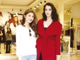 Aimen Khan and Sophiya Salim Khan: FASHION UNDER ONE ROOF,  The House of Aphrodite exhibits its winter collection in Gulberg, Lahore