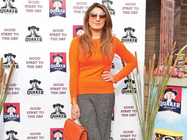 Amber Liaqat: LET'S BRUNCH, Quaker Oats hosts a brunch in Lahore