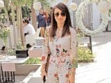 Anoushey Ashraf: 45 CANDLES, Saba Ansari celebrates her 45th birthday at Café Alyanto in Karachi