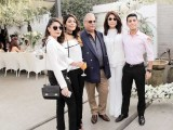 Kamila Ansari, Samiya Ansari, Kokab Ansari, Saba Ansari and Salaar Ansari: 45 CANDLES, Saba Ansari celebrates her 45th birthday at Café Alyanto in Karachi