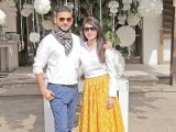 Mr and Mrs Zaheer Abbas: 45 CANDLES, Saba Ansari celebrates her 45th birthday at Café Alyanto in Karachi