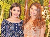 Unzila Hussain and Zara Mandiwalla: TO NEW BEGINNINGS, Amna Rizvi and Hasan Vajid host their Shalima in Karachi