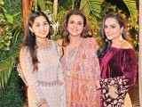 Maha Rizvi, Sayeeda Leghari and Alina Leghari: TO NEW BEGINNINGS, Amna Rizvi and Hasan Vajid host their Shalima in Karachi