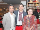 Bilal Mukhtar, Usman and Faiza Saleem: BIG LAUGHS AND BURGER BITES, Café Barbera launches its new burger menu in Lahore