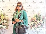 Aisha Amir: PASTELS AND FLOWERS, Kiran Chaudhry exhibits the latest collection of her brand, 'Anaya', at Labels in Karachi