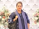 Nadia: PASTELS AND FLOWERS, Kiran Chaudhry exhibits the latest collection of her brand, 'Anaya', at Labels in Karachi