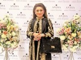 Nazneen Tariq: PASTELS AND FLOWERS, Kiran Chaudhry exhibits the latest collection of her brand, 'Anaya', at Labels in Karachi