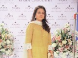Sayeeda Leghari: PASTELS AND FLOWERS, Kiran Chaudhry exhibits the latest collection of her brand, 'Anaya', at Labels in Karachi