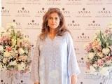 Shehrezad Rahimtoola: PASTELS AND FLOWERS, Kiran Chaudhry exhibits the latest collection of her brand, 'Anaya', at Labels in Karachi