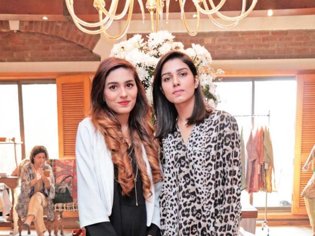 Misha Imam and Laiba Mujahid: A NEW LINE, Misha Imam exhibits her debut collection at Cosa Nostra, Gulberg, Lahore