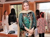 Rabia Hashim: A NEW LINE, Misha Imam exhibits her debut collection at Cosa Nostra, Gulberg, Lahore