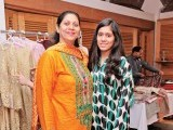 Sayeeda Shuaib and Minahil: A NEW LINE, Misha Imam exhibits her debut collection at Cosa Nostra, Gulberg, Lahore