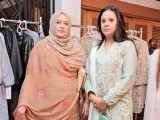 Shahana Javaid and Yumna Javaid: A NEW LINE, Misha Imam exhibits her debut collection at Cosa Nostra, Gulberg, Lahore