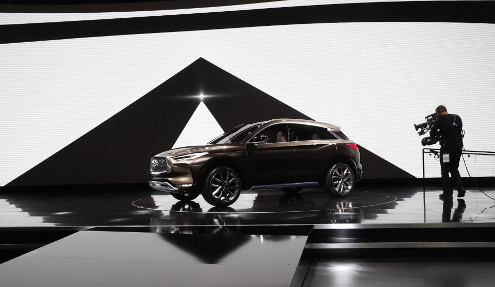 The Infiniti QX50 concept car. PHOTO: REUTERS