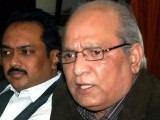 Mushahidullah Khan had to quit the portfolio of Minister for Climate Change after he claimed that ISI former chief Lt Gen Zaheerul Islam wanted to topple the PML-N government. PHOTO: INP