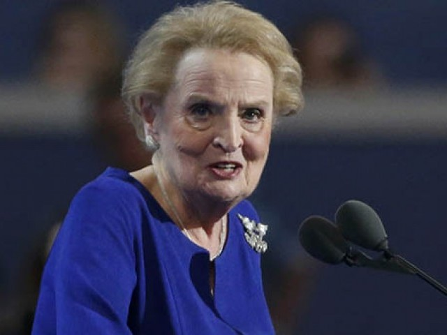 Albright: I'm 'ready to register as Muslim'