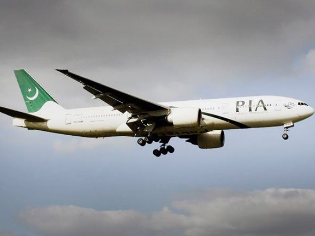 Probably a bird on some other foreign object hit the tail of the aircraft, slightly damaging it, shortly before it landed in Milan, PIA spokesperson Daniyal Gilani said. PHOTO: PIA