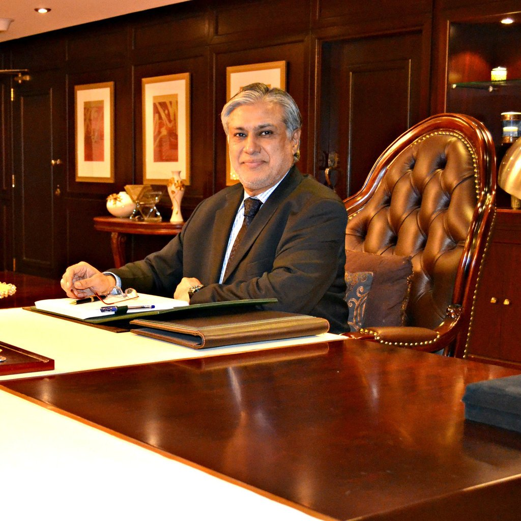 Finance Minister Ishaq Dar. PHOTO: WIKIPEDIA
