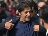 Pakistani cricketer-turned-opposition leader and head of Pakistan Tehreek-i-Insaf (PTI), Imran Khan arrives at the Supreme Court to attend a hearing on the Panama Papers, in Islamabad on November 17, 2016. PHOTO: AFP