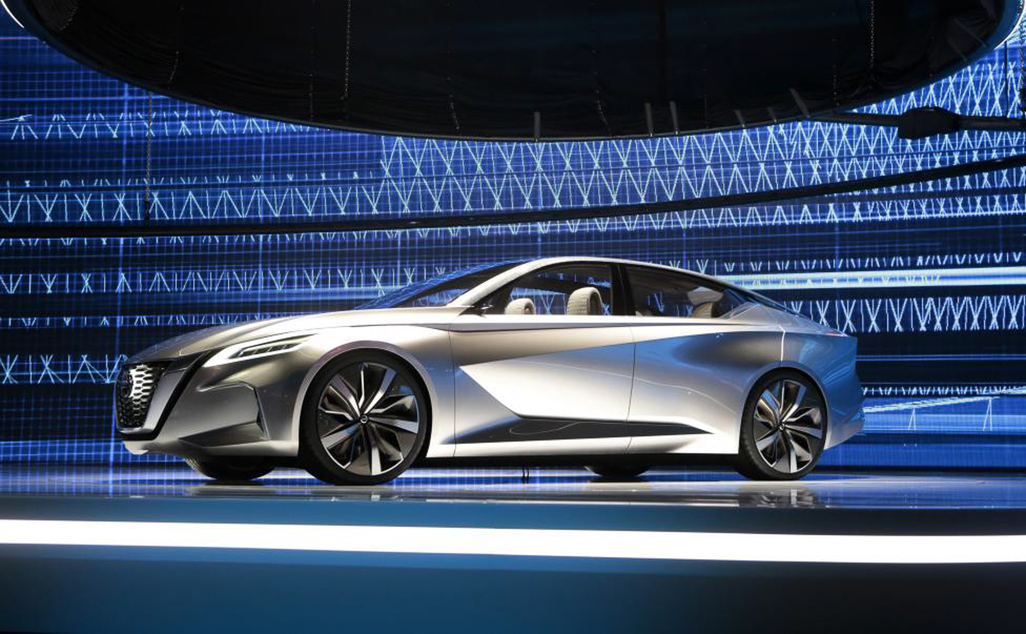 The Nissan Vmotion 2.0 concept car. PHOTO: REUTERS
