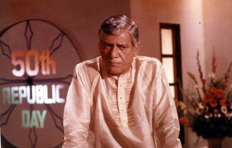 Actor Om Puri. Express archive photo