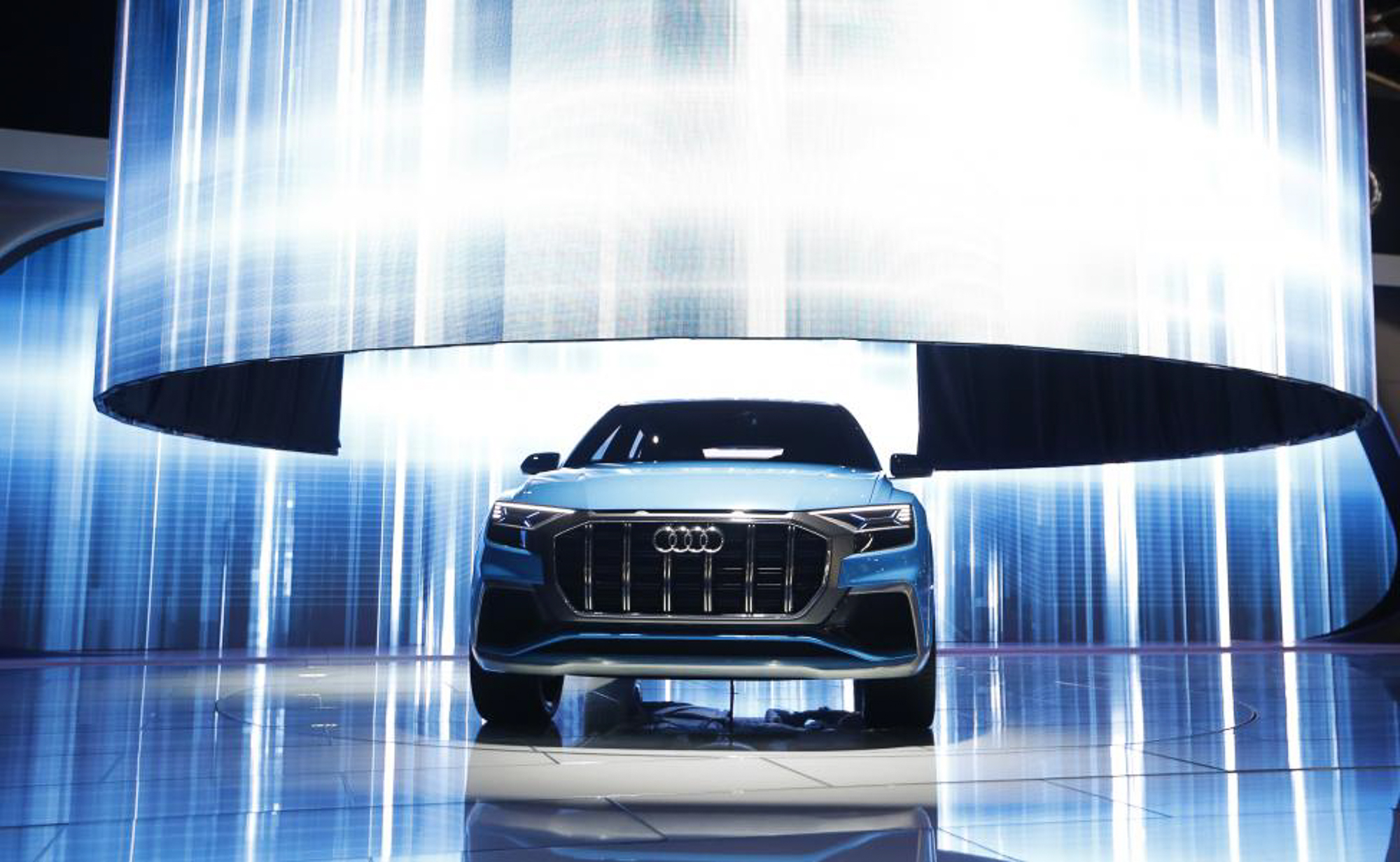 The Audi Q8 concept car. PHOTOI: REUTERS