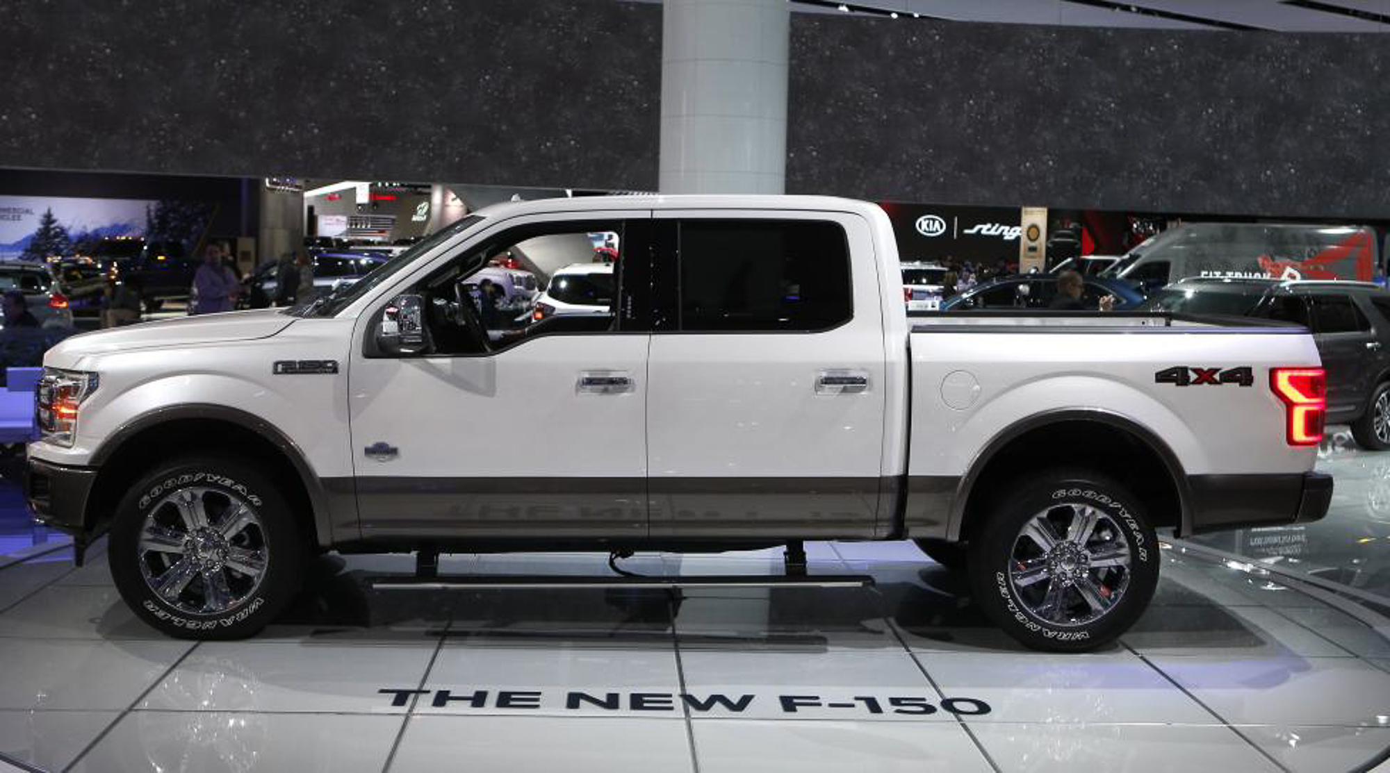 "A 2018 Ford F-150 ""King Ranch"" pickup truck. PHOTO: REUTERS"