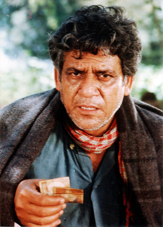 Actor Om Puri in KIRDAR. Express archive photo