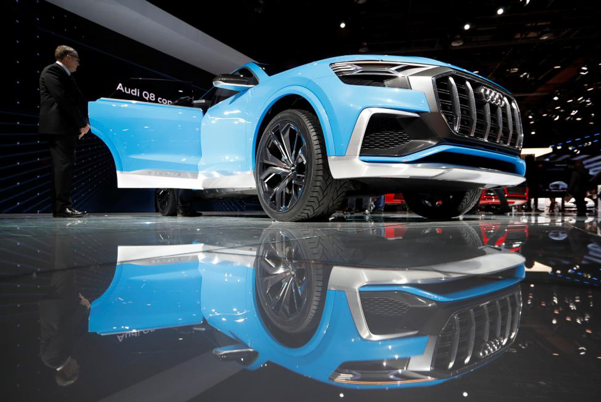 The Audi Q8 concept SUV.  PHOTO: REUTERS