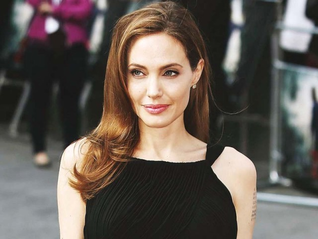 "Jolie said in a New York Times opinion piece that discriminating based on religion was ""playing with fire."" PHOTO: FILE"