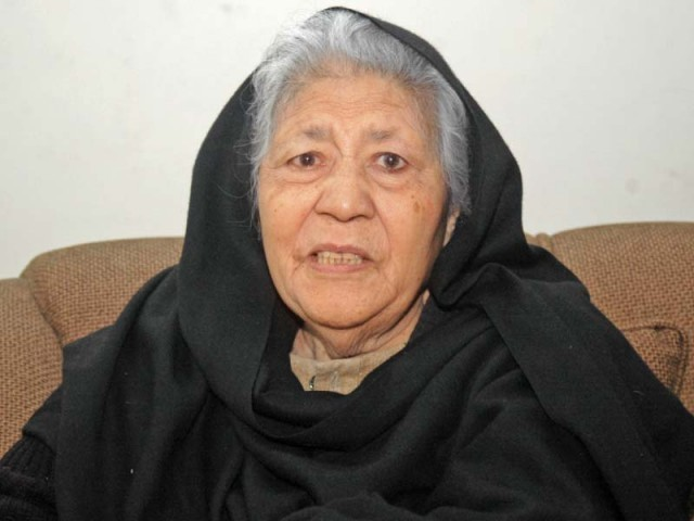 Bano Qudsia. PHOTO: FILE