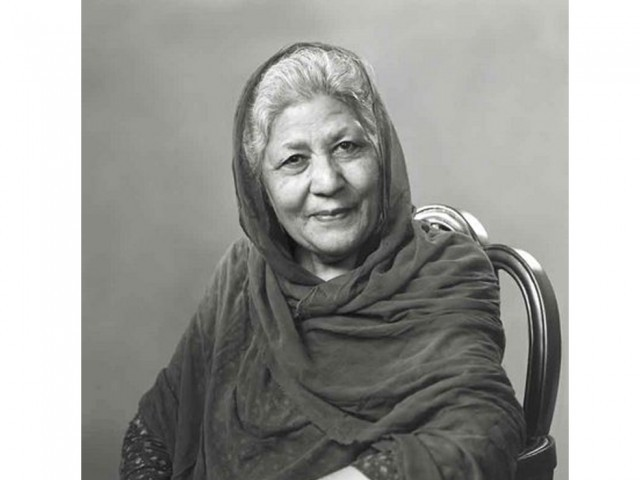 The legend that was bano qudsia the express tribune for Bano qudsia children