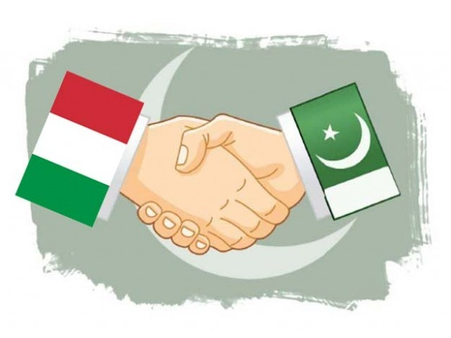Italian consul-general Gianluca Rubagotti announced that a publishing company plans to publish a contemporary Pakistani author in the Italian language. Photo: File