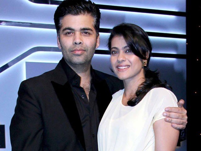 Karan Johar and Kajol. PHOTO: BOLLYWOOD LIFE