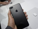 iPhone 7 Plus in matte black colour. PHOTO: AFP