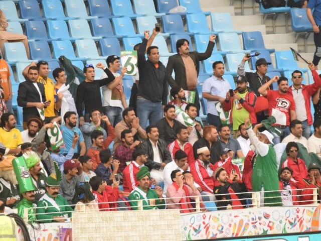 The PSL has managed to garner for itself a fan base that boasts several nationalities. PHOTO COURTESY: PSL
