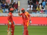 Misbahul Haq for Islamabad United. PHOTO COURTESY: PSL