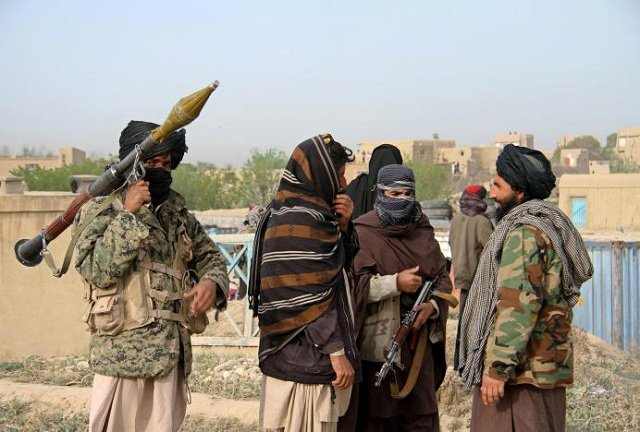 File photo of Tehreek-e-Taliban Pakistan militants. PHOTO: REUTERS