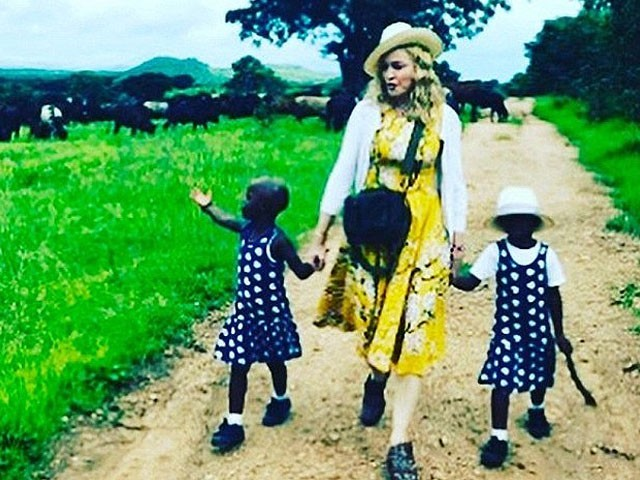 Madonna shares adorable video of adopted twins