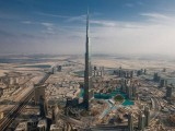 An aerial view of Burj Khalifa in UAE. PHOTO: REUTERS